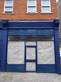 26 sqm shop for sale in Fulham. No rent for 6 years. Newlly refurbished