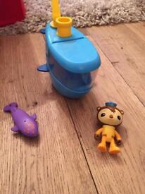 Octonauts gup c and shellington (anchor missing)
