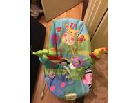 fisher price musical baby bouncer chair