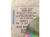 Taylor swift Dublin 15th june