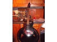 Jaxville Electric Stratacaster Style Guitar