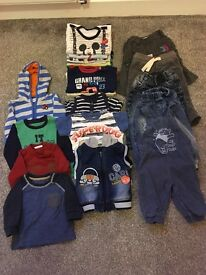 Bundle of clothes for boy 6-9 months
