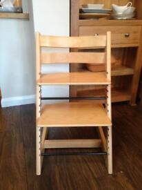 RESERVED - Stokke Tripp Trapp Chair