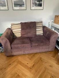 Free - 2 seater sofa and cushions