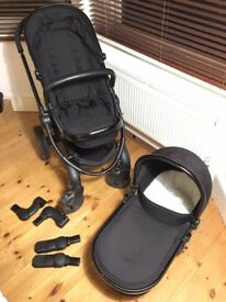 iCandy Peach 3 with carrycot and car seat adapters