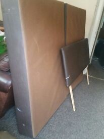 For SALE Double bed frame and Headboard. ONLY £30