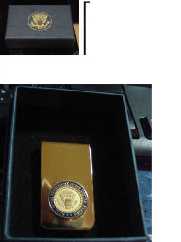 presidential seal  money clip - diecast