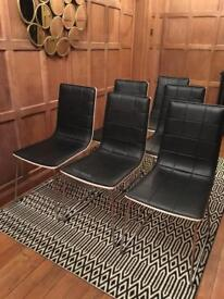 6 John Lewis Chairs. As new condition