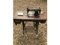 Antique Singer Sewing Machine**