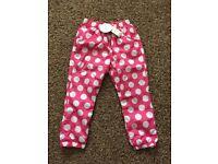 BNWT M&S splash/waterproof trousers, age 5-6 £5