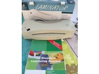 A4 Laminator with Pouches