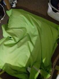 Large green Beanbag