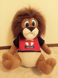 England Lion Soft Toy