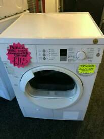 BOSCH 8KG CONDENSER DRYER IN WHITE