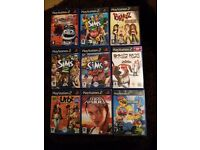 PlayStation 2 Slimline in Silver and games bundle