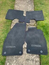 Corsa fitted car mats