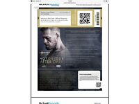 Connor mcgregor after party VIP tickets