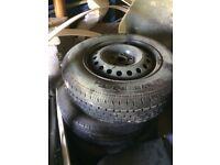 Vito wheels x5 and tires
