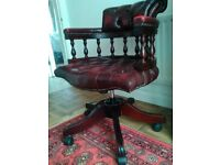 Chesterfield Captains Swivel Chair