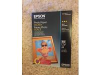 50x glossy EPSON photo paper A3