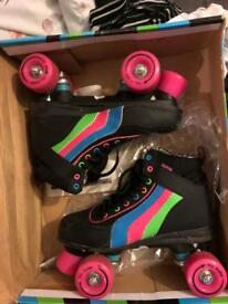 Woman's roller skates