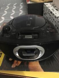CD Radio & docking station portable player