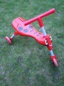 Scuttlebug Ladybird Scooter