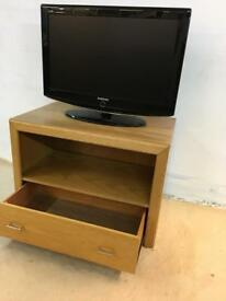 Wooden TV unit with drawer