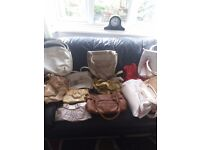 Collection 12 handbags some new