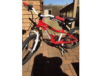 """Specialized Hotrock 20"""" Red Bike"""
