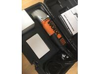 Worx sonicrafter oscillating multifunction tool sandwr cutter saw