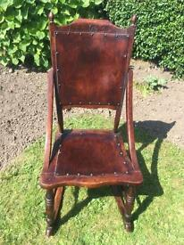 Rocking chair Victorian old