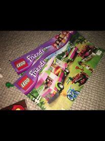 Olivia's Lego caravan