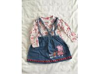 Peppa Pig skirts and t-shirt for 4-5 years old girl