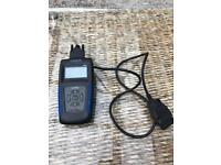 Fault code scanner and clearer, code reader