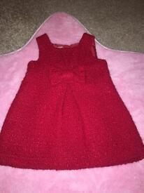 Next Baby Girls Dress 3-6 Months
