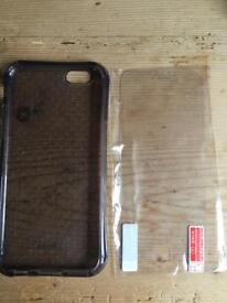 Apple iPhone 6 case + screen protector