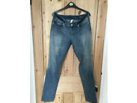 Jeans trousers Mango size 12