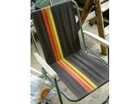 4 matching sun chairs