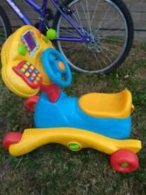Kids ride on trike/rocker