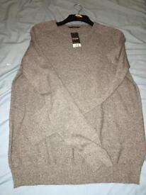 LARGE to fit chest jumper
