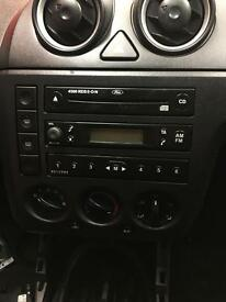 Ford Fiesta radio