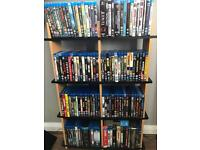 Blu ray Collection 121 films mint as new