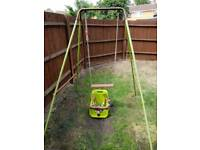 Child's Swing with Infant Seat