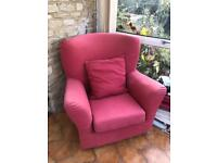 Armchair available to collect for free