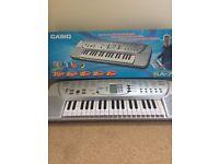 Child's Casio keyboard