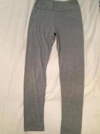 Grey leggings size 10
