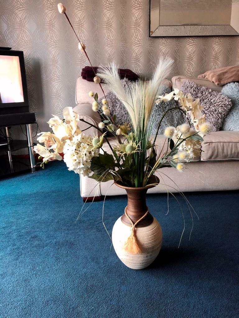 Large Vase And Silk Flowers In Attleborough Norfolk Gumtree