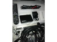 HD,FREESAT,MAINS,LIGHTER CARAVAN SATELLITE