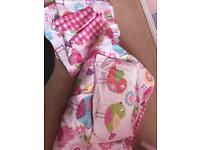 Toddler bedding set with matching curtains